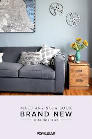 how to fix a sagging sofa how to fix a saggy sofa popsugar home