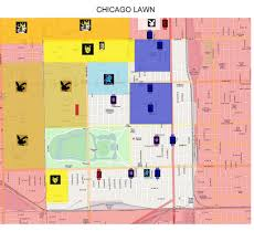 Maps Of Chicago by Miami Hoods Map Of Dade County Florida New Orleans Murders Down