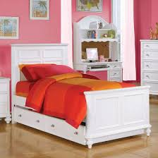 Trundle Bed For Girls Acme 30000f Athena White Girls Full Trundle Bed