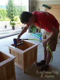 Wood Planter Box Plans Free by Best 25 Planter Box Plans Ideas On Pinterest Wooden Planter