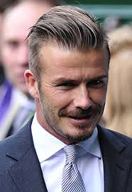 what hair styling product does beckham david beckham named top hair icon for men telegraph