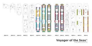 voyager of the seas deck plan modern royal caribbean tweet