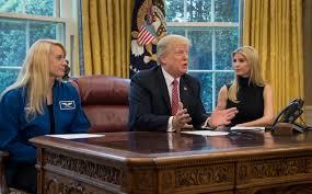 president trump congratulates astronaut whitson nasa