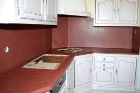beton ciré pour cuisine beton cire pour credence cuisine cracdence et plan de travail de