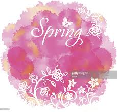 spring floral background vector art getty images