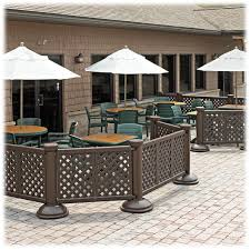 grosfillex sigma collapsible folding table grosfillex portable resin patio fence modern patio outdoor