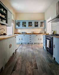 BluepaintedkitchencabinetsKitchenwithhardwoodfloornavy - Blue painted kitchen cabinets