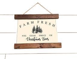 Natural Christmas Tree For Sale - christmas trees canvas banner sign christmas trees for sale