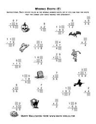 collection of solutions halloween math worksheets high with
