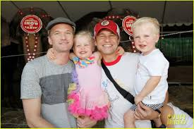 love cute couple baby cute perfect neil patrick harris alice in