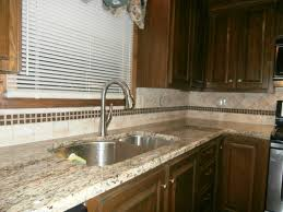 Kitchen Backsplash Ideas With Santa Cecilia Granite Saint Cecilia Granite With Cherry Cabinets Roselawnlutheran