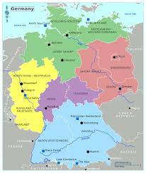 map of germany in europe map of germany with regions world maps