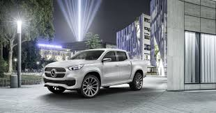 future mercedes truck mercedes benz reveals luxury pickup truck
