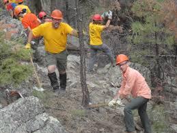Philmont Scout Ranch Map Corps Park Ranger Builds Future Leaders Through Boy Scouts