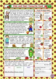 reading comprehension for elementary level about kids and their