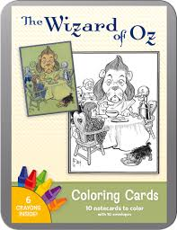 Wizard Of Oz Home Decor by The Wizard Of Oz Coloring Cards