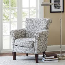 narrow accent chair beautiful page classic look living room