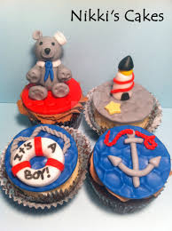 nautical babyshower cupcakes by corpse queen on deviantart