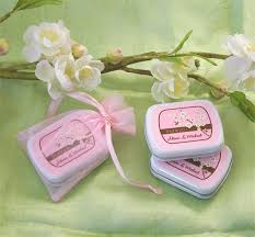 mint to be wedding favors personalized cherry blossoms mint favors cherry blossom favors