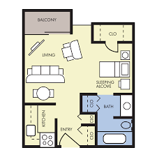 Florida Floor Plans 0 1 Bedroom Apartments For Rent In Winter Haven Fl Episcopal