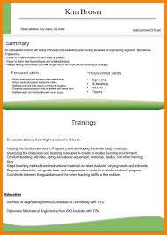 Resume Order Of Jobs 11 Performa Of Job Cv Address Example