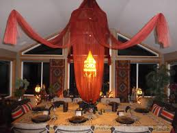 images of dining room with moroccan sc