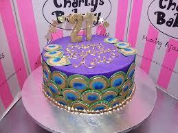 peacock themed birthday cake charly u0027s bakery flickr