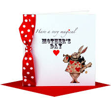 Homemade Mothers Day Cards by Alice In Wonderland Handmade Mothers Day Card By Made With Love