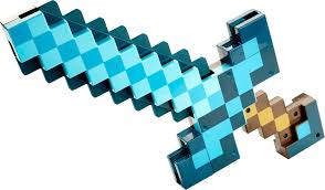 minecraft transforming sword pickaxe blue fcw14 best buy