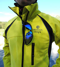 yellow waterproof cycling jacket man u0027s windproof thermal softshell cycling jacket