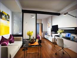living room one bedroom apartment design small studio furniture