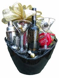 martini gift basket the gift basket