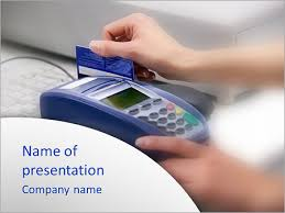pay with credit card powerpoint template u0026 backgrounds id