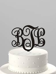 download wedding cake topper monogram initials wedding corners