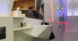 bathroom design 2013 laufen s futuristic bathroom design hospitality interiors magazine