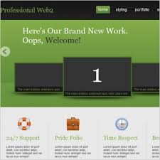 professional web2 template free website templates in css html js