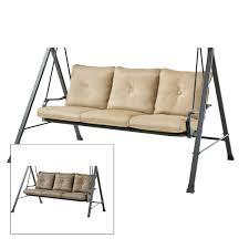 Shopko Patio Furniture by Replacement Swing Cushions Garden Winds