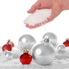 christmas ornaments christmas decorations snow 30g instant
