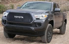 toyota trucks emblem 2016 2017 toyota tacoma mesh grill bezels by customcargrills