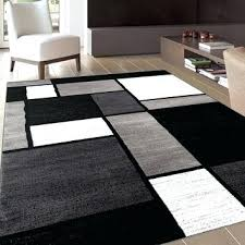10x14 Wool Area Rugs Area Rug 10 14 Home Solid Brown Wool Tufted Area Rug Black