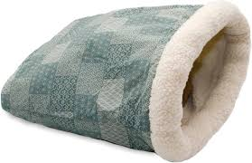 k u0026h pet products kitty crinkle sack cat bed teal chewy com