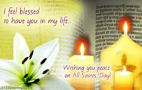 feel blessed to you free all saints day ecards greeting