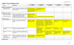 excel business plan business strategy plan template business plan