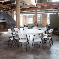 lifetime round tables for sale lifetime round folding table 72 plastic white granite 2673 amazing