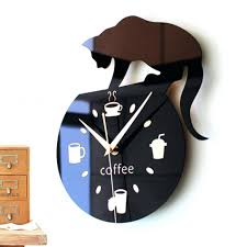 kitchen clocks modern wall clocks modern black metal wall clock wood wall clock