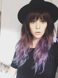 salt and pepper hair with lilac tips best 25 purple tips ideas on pinterest purple hair tips pastel