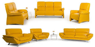 Modern Yellow Sofa Modern Yellow Leather Sofa Set New Design 2018 2019 Sofamoe Info