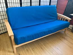 Organic Futon Cover Synthetic Royal Blue Futon Cover Queen