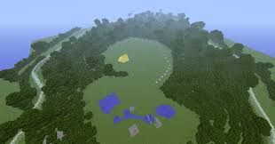 Hunger Games Minecraft Map 74th Annual Hunger Games Arena Map
