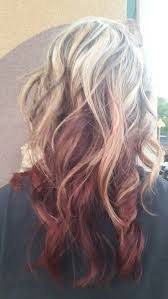 platinum hairstyles with some brown the 25 best brown underneath blonde on top ideas on pinterest